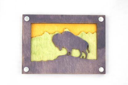 bison, buffalo, great plains, rockies, American West, Montana, Wyoming, Nebraska, Oklahoma, Kansas, South Dakota, North Dakota, Idaho, gift shop, rocky mountains, appalachian trail, rockies, camper, jewelry, national parks, national park, purple, yellow, green, memento