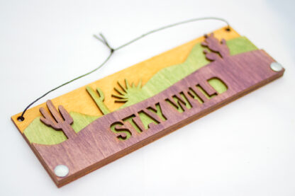 stay wild, desert, rockies, American West, Joshua Tree, Death Valley, gift shop, rocky mountains, appalachian trail, rockies, camper, jewelry, national parks, national park, purple, yellow, green, memento, aloe, cactus