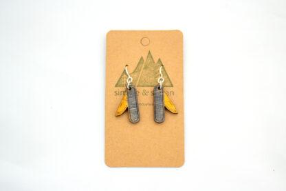 pocket knife, yellow, appalachia, gift shop, rocky mountains, appalachian trail, rockies, camper, jewelry, national parks, national park, blue