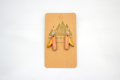 pocket knife, yellow, appalachia, gift shop, rocky mountains, appalachian trail, rockies, camper, jewelry, national parks, national park, red