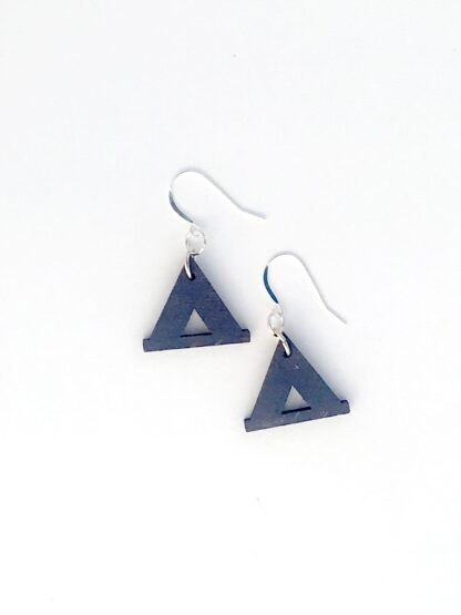earrings, camp, tent, blue, campsite, appalachia, rocky mountains, appalachian trail, rockies, camper, jewelry, national parks, national park, blue, gift shop